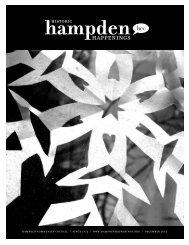 December 2012 (pdf) - Hampden Community Council