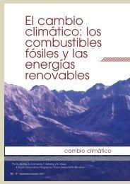 El cambio climático: los combustibles fósiles y las energías ... - CDAM