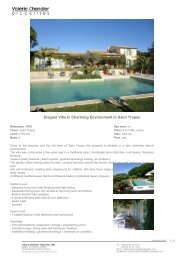 Elegant Villa In Charming Environment In Saint Tropez