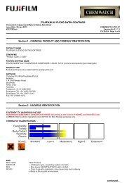 Chemwatch Australian MSDS 4791-87 - FUJIFILM Australia