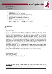 med update 06_12.pdf - Die Aidshilfen Österreichs