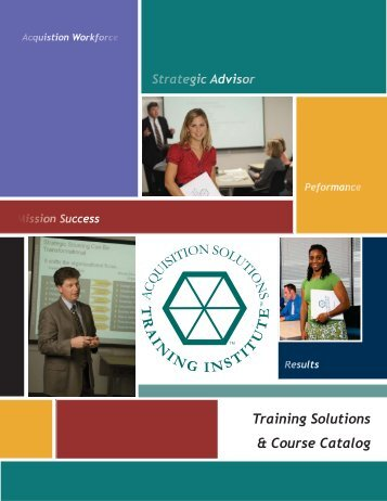 Training Catalog - The Right Words