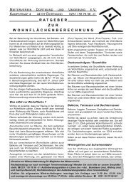 zum Ratgeber - Mieterverein Dortmund und Umgebung eV