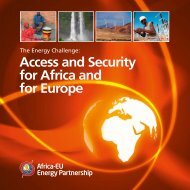 Access and Security for Africa and for Europe - EUEI Partnership ...