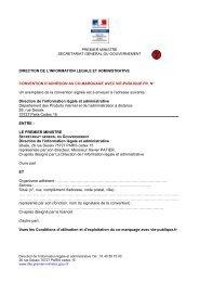 Télécharger le formulaire d'adhésion au comarquage - Vie publique