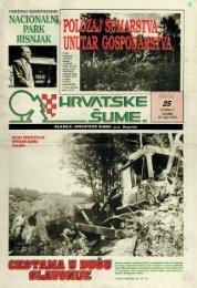 HRVATSKE ŠUME 25 (29.9.1993)