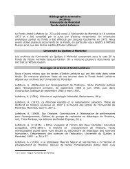 publications d'andré lefebvre - Société des professeurs d'histoire du ...