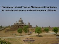 Zin Nwe Myint_Formation of a Local Tourism Management Organization ...
