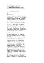 Norme in Materia di Inquinamento Acustico