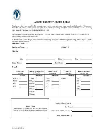 Product Order Form  KakTakTk