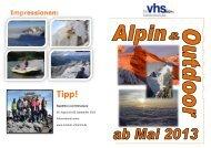 Expedition zum Kilimanjaro: 19. August bis 06 ... - VHS Mühldorf