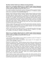 Bendrijos muitin s kodekso įgyvendinimo nuostatų pakeitimai
