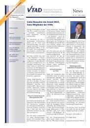 VTAD News April 2013 - Vereinigung Technischer Analysten ...
