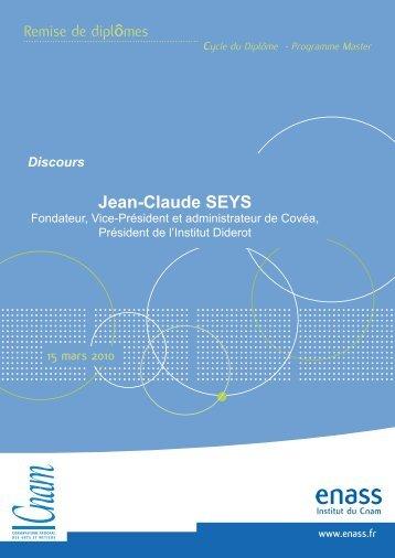 Jean-Claude SEYS - L'Enass