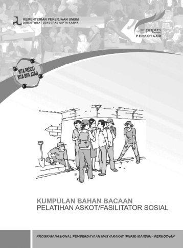 ebook BB Pelatihan Askot Sosial - P2KP