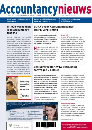 download nummer 14 hier - Accountancy Nieuws