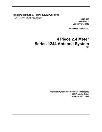 4096-525 - General Dynamics SATCOM Technologies