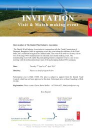 INVITATION Visit & Match making event