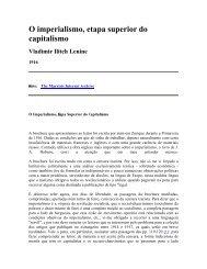 O imperialismo, etapa superior do capitalismo - Livros Grátis