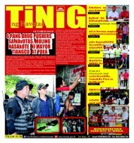tinig october issue 2012 - Navotas City