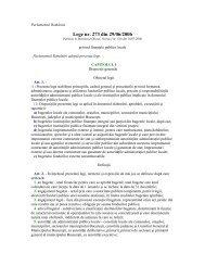 Lege nr. 273 din 29/06/2006 - Fonduri Europene Nerambursabile