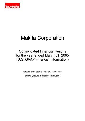 PDF/270KB - Makita