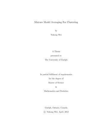 master thesis.pdf - Atrium - University of Guelph