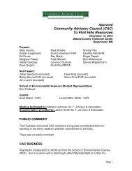 December 13, 2010 Approved Minutes - Flinthillscac.org