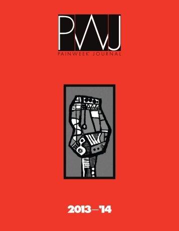 PWJ Rate Card - PAINWeek