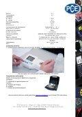 Refractómetro digital para cloruro de sodio HI 96821 - PCE Ibérica - Page 2