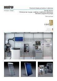 Prospektas apie Saulės kolektorių sistemas - IdejaSildymui.lt