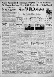 The Cadet. VMI Newspaper. March 01, 1943 - New Page 1 [www2 ...
