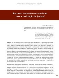 Recurso: embaraço ou contributo para a ... - Revista do TCE