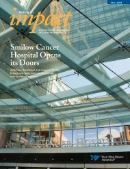 Smilow Cancer Hospital Opens its Doors - Yale-New Haven Hospital