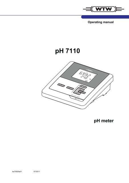 pH 7110 - Fagerberg