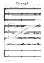 Preview sheet music (PDF) - Gehrmans Musikförlag