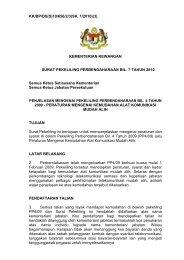 SPP Bil. 7/2010 - Treasury