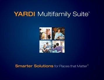 YARDI Multifamily Suite™