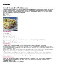 Check out these healthy recipes courtesy of Inova Alexandria ...