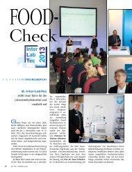 TagungsberichT 2. InterLabTec stößt neue Türen für die ...