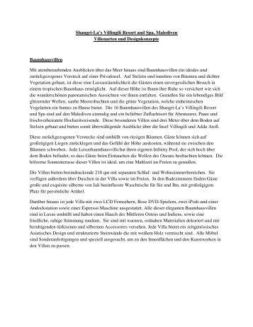 Villenbeschreibung - EWTC