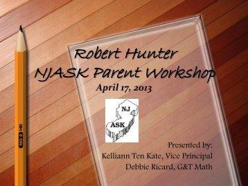 Mathematics NJASK Parent Workshop PowerPoint