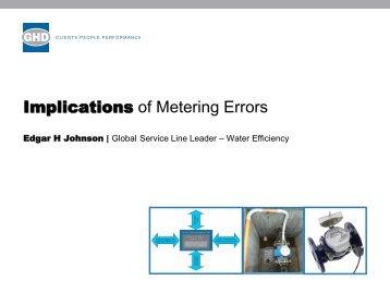 Implications of Metering Errors - Iwa-waterloss.org