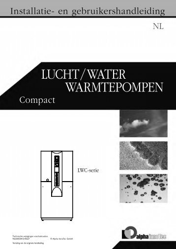 Warmtepompen LuCht / Water - Nathan Import/Export
