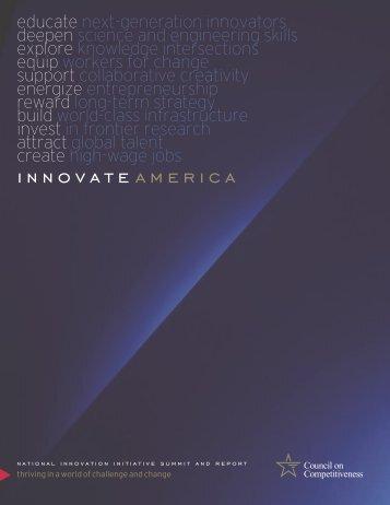 Innovate America - Task Force on American Innovation