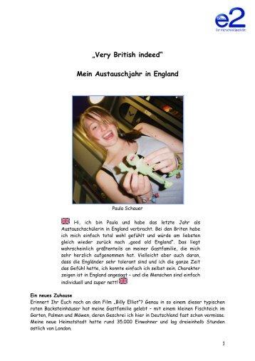 England - Paula Schauer