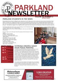 April 2013 - Parkland School District