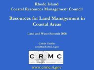 What is a Coastal Buffer? - Rhode Island Land and Water Partnership