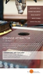 STRANGE ATTRACTOR - Crawford Art Gallery