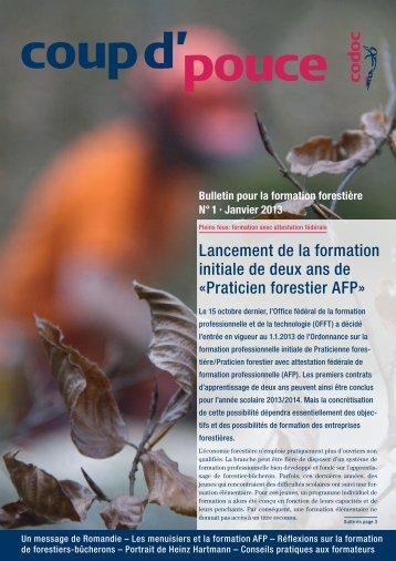 Praticien forestier AFP - Codoc